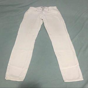 Mavi alexa ankle mid-rise skinny jeans